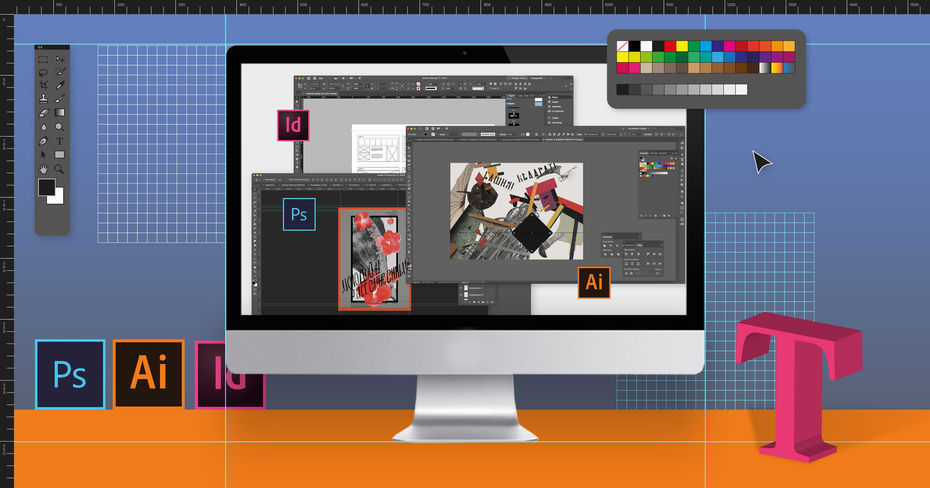 Базовые технологии дизайна (Photoshop, Illustrator, InDesign)