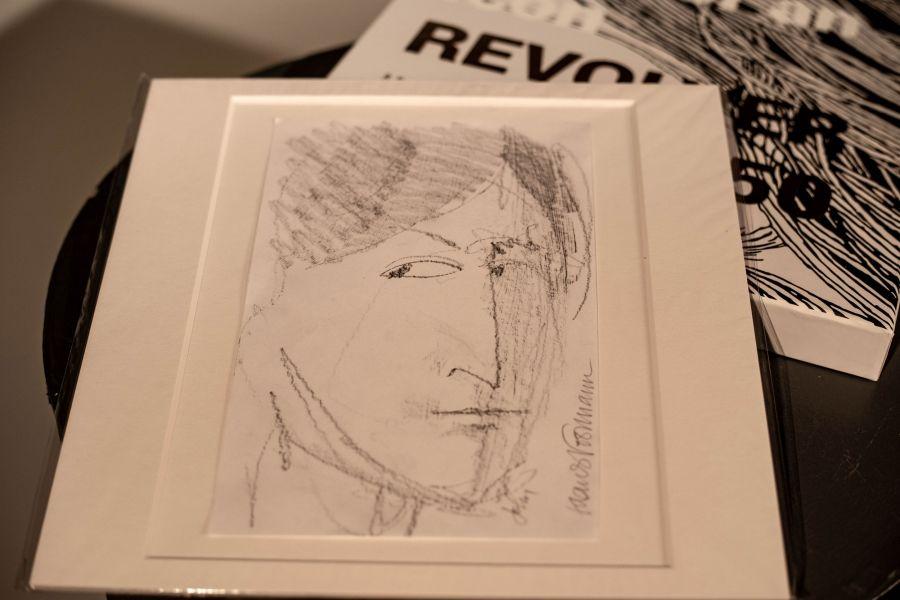 Джон Леннон. Эскиз Клауса Форманна. Источник: сайт https://www.pinterest.ru/