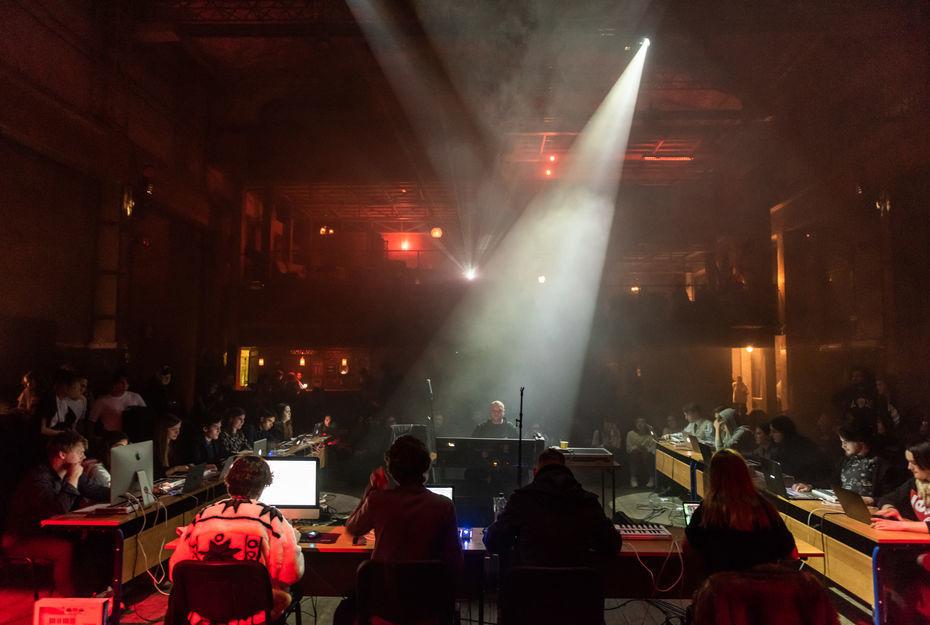 Новогодний концерт студентов вМутаборе